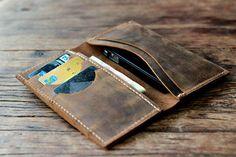 Leder iPhone 5 Wallet Case - Herren-Geldbörsen - Damen Taschen Geldbörsen Brieftaschen--013 - Clutch - Mobile Zubehör