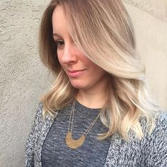 Natural dimension. . . . . . #hair #haircolor #haircut #layers #longhair #lob #longbob #livedinhair #blonde #balayage #highlights #handpainted #babylights #ombre #colormelt #wella #newhair #wavyhair #texture #jillianshair #behindthechair #modernsalon #hairpainting #instahair #hairposts #cthair #dimensionalcolor #hairgoals #hairoftheday #hairstyle
