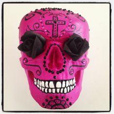 a skull hand crafted skull by Skullamour http://www.skullamour.com/