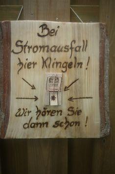 Buchstaben & Schriftzüge - Türschild, Tür- Dekoration - ein Designerstück von Annegret-Lindhorst bei DaWanda