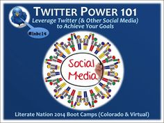 Have you seen Carolyn D. Cowen's narrated PowerPoint on Twitter Power 101: Leverage Twitter (& Other Social Media) to Achieve Your Goals? Watch it here: http://youtu.be/yDSHXXluw_s