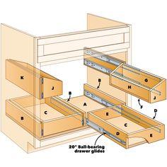 under sink storage diy kitchen projects How to Build Kitchen Sink Storage Trays