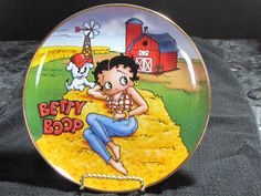 Franklin Mint Franklin Mint, Betty Boop, Tableware, Painted Porcelain, Dishes, China Painting, Dinnerware