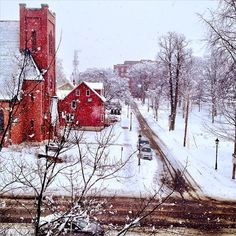 Early #spring #snow in #Charlottetown. Photo by @TravelMediaPEI