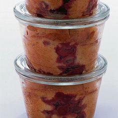Süßer Kirschkuchen aus dem Glas Rezept | Küchengötter