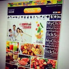 Visit our website myclicksupermarket.com