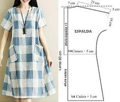 Dress Sewing Patterns, Clothing Patterns, Crochet Paisley, Kaftan Pattern, Womens Denim Dress, Beautiful Dress Designs, Kurta Designs Women, Fashion Sewing, Sewing Clothes