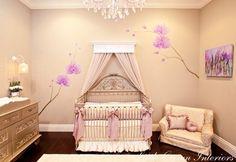 baby girl nursery baby