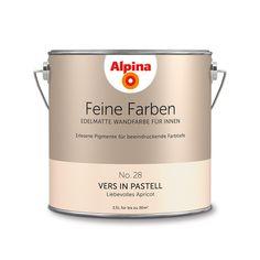 Alpina Feine Farben No. 28 – Vers in Pastell. #Design #DIY #Farbe #Einrichten…