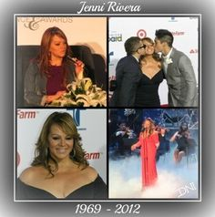 Jenni Rivera the Mexican-American singing diva will be missed in the Latin music industry - see more photos and read the article.