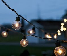 vintage strand lighting