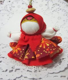 Кукла колокольчик Анны Проскуриной, г. Старый Оскол, Белгородская обл, Россия