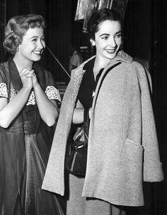 Jane Powell and Elizabeth Taylor (1951)