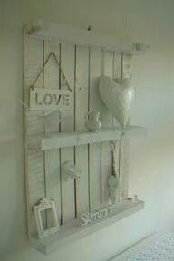 Estantería #Palets #Pallets #decorar #design #wood