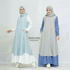 Abaya Fashion, Fashion Wear, Modest Fashion, Girl Fashion, Fashion Dresses, Muslimah Clothing, Muslim Long Dress, Moslem Fashion, Hijab Style Dress