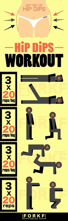 Fill Out Your Hips And Butt With This Hip Dips Workout hiitworkoutprogra...