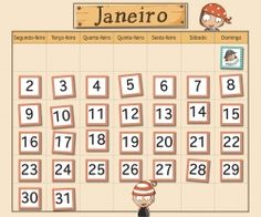 Printed in any language! 1 to 31 numbered cards + 10 holliday cards (pirate) + 12 cards with month names. Pirate Theme, Language, Crafts, Names, Printed, Board, Fiestas, School, Pirates