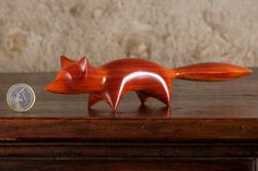 Abstract Wooden Fox Carving by Perry от PerryLancasterWood на Etsy