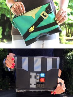 Link And Darth Vader-Inspired Clutch Purses