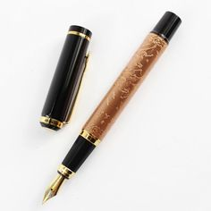 "Amazon.com : Advanced Baoer 507 Red Copper Xubeihong ""The Eight Horses"" Embossing Pattern Fountain pen : Office Products"