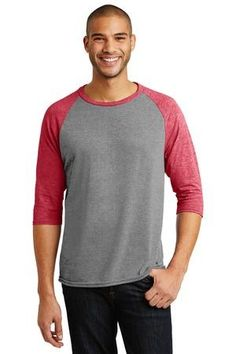 58a4a274fa8d Anvil Tri-Blend Sleeve Raglan Tee Baseball Jersey Casual Everday Shirt 6755  in Clothing, Shoes & Accessories, Men's Clothing, Shirts, T-Shirts