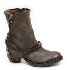 AIRSTEP-A-S-98-Stiefeletten-612204-ORO-TDM-braun-NEU Shoe Boots, Shoes Sandals, Ankle Boots, Ballerinas, Brown Leather Boots, Leather Bags, Boot Scootin Boogie, Espadrilles, Walk This Way