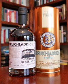 Bruichladdich Valinch: The Coming of Age (10 Years Old, Palo Cortado Cask) Single Malt Scotch Whisky