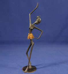 Authentic KARL HAGENAUER Austria Art Deco African Woman Bronze Dancer Figure  | eBay