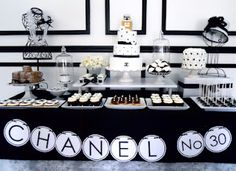 Fabulous black & white designer inspired party!