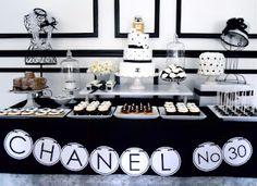 Fabulous black & white designer inspired party!