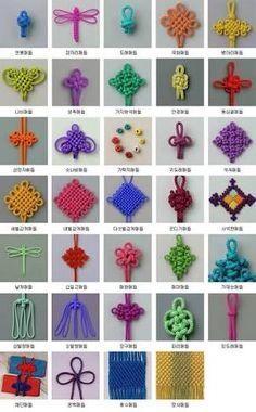 korean knot - Google Search