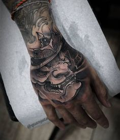 Hand Tattoo can be considered to be the most popular tattoos ever worn all over the world. Despite of the relatively small area, you will be surprised to see a variety of incredible tattoo designs on their hands. Dragon Hand Tattoo, Full Hand Tattoo, Skeleton Hand Tattoo, Rose Hand Tattoo, Hand Tats, Small Japanese Tattoo, Japanese Hand Tattoos, Unique Hand Tattoos, Cool Tattoos