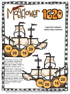 Great math board game to make them think! From Thanksgiving Math Games Fourth Grade by Games 4 Learning $ Contains 14 printable games that review a variety of fourth grade skills