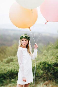 Brautkleid mit Spitze für das Standesamt