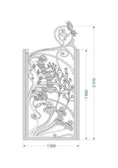 Фотография Cast Iron Gates, Iron Garden Gates, Gates And Railings, Iron Front Door, Grades, Wrought Iron, Metal Art, Beautiful Gardens, Metal Working