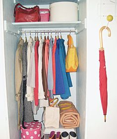 3 Ways to Transform a Closet|Three home owners turn neglected storage space into stylish, functional living areas.