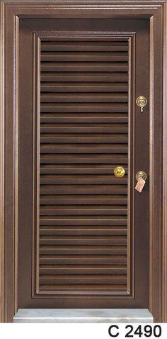 Nice Classic Steel Door with Shutters & The 44 best Door Models images on Pinterest | Interior doors ...