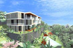 Luxus Wohnungen am Lago Maggiore mit sensationellem 180° Panoramablick von Ascona bis weeit nach Italien. NUR noch 2 Wohnungen frei ....