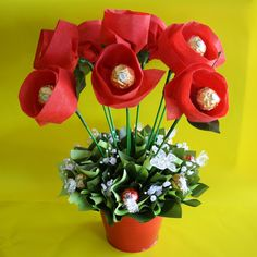Lindt Flower Pot
