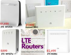 LTE 4g router supplier in durban Huawei B311 Huawei lte router b525 Huawei 4g lte rouer b315 zte mf253v 4g router zte mf286c lte router Durban South Africa, Fibre, Technology, Phone, Tech, Telephone, Tecnologia, Mobile Phones