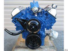 ford v8 302 351 engine manual parts