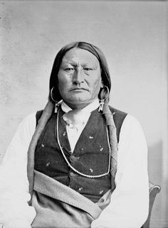 Bird Chief, An American Indian of the Arapaho Nation 1871.