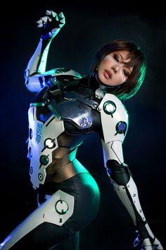 Rule 63 Genji Cosplay by Tasha Cosplay Anime Cosplay, Genji Cosplay, Best Cosplay, Cosplay Girls, Cyberpunk 2077, Cyberpunk Girl, Arte Cyberpunk, Robot Costumes, Cosplay Costumes