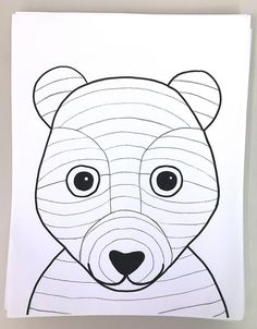 SPRINGTIME BUNNY, BEAR OR FOX! Grade – Art with Mrs Filmore How adorable are these? This lesson took art classes to finish (and I had JUST enough time to squeeze in one more lesson before the end of the year)! It's a simple one —but packs in a bunch! Bear Template, Bunny Templates, Drawing Templates, Art 2nd Grade, Third Grade, Arte Elemental, Classe D'art, Value In Art, Bunny And Bear