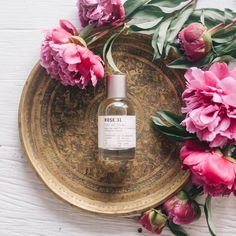 A cult classic fragrance: Le Labo Rose 31. Alternating femininity and /masculinity with the disturbing ambiguity of the Centifolia rose, this fragrance is quickly picked up by a chorus of warm, spicy, and woodsy notes such as cumin, olbanum, cedar and a touch of amber. Image via The Lane.