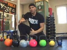 Kettlebell Exercises for Beginners- helpful to work out which kettlebell to buy next!