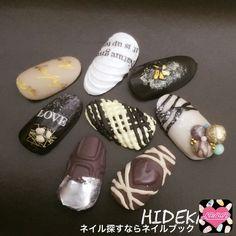 Sharpie Nail Art, Dot Nail Art, Nail Art Diy, Nude Nails, Gel Nails, Kawaii Nails, 3d Rose, New Nail Designs, Japanese Nail Art