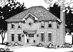 1933 sq ft 36 x 30 house plan. Add craftsman porch and gable. 4 bedrooms!