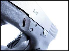 Trapezoid Grip Slide Lock for Glock Pistols
