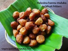 Halasina hannina mulka or appa recipe explained with step by step pictures. Halasina hannu mulka is sweet fritters prepared using jack fruit, rice, coconut and jaggery. These jackfruit fritters are familiar by name mulka or appa. Halasina hannu mulka or jackfruit fritters are very tasty.